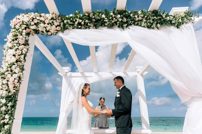 Wedding in Cancun Grand Palladium