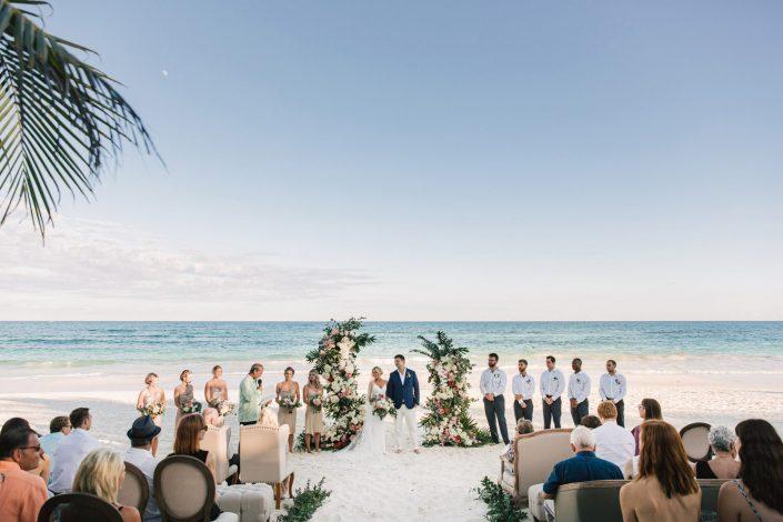 Wedding in Tulum, Be Tulum, Akiin Beach